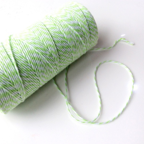 2 ply Bakers Twine - LIME