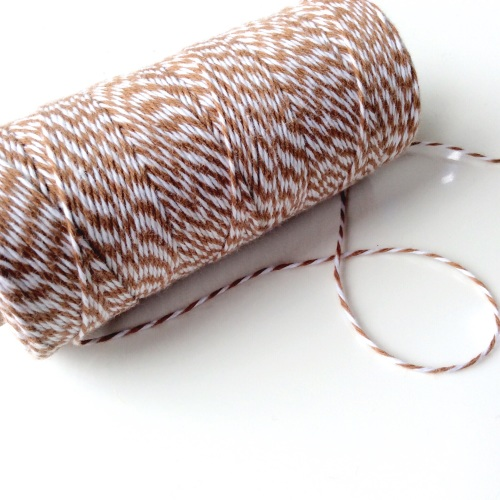 2ply Bakers Twine - LATTE