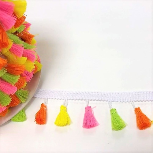 Tassel Braid - NEON