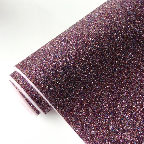 FLAMINGO WISHES Glitter Felt