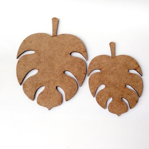 Jungle Leaf templates-set of 2
