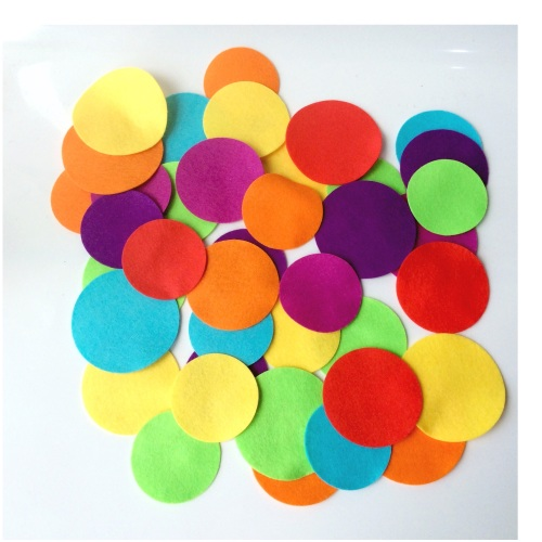 Felt-etti Circles, Die Cut Shapes