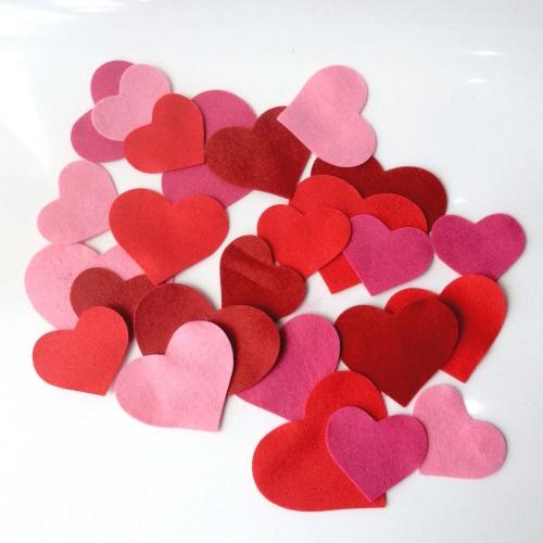 Felt-etti Hearts, Die Cut Shapes