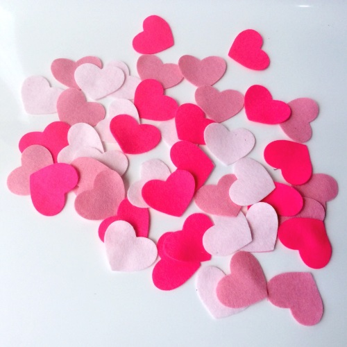 Felt-etti Mini Hearts, Die Cut Shapes