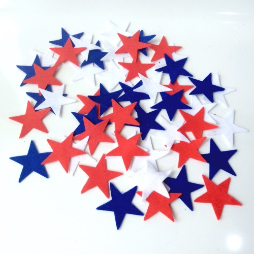 felt-etti Mini Stars, Die Cut Shapes