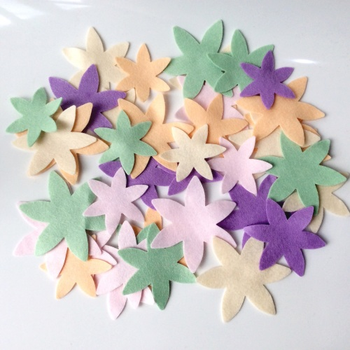 Felt-etti Blossoms, Die Cut Shapes