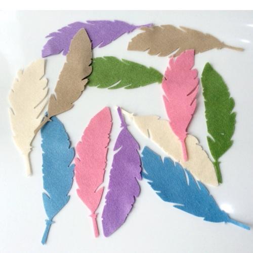 Felt-etti Feathers, Die Cut Shapes