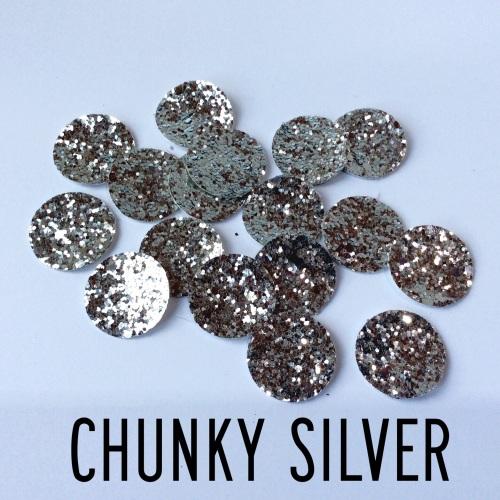 Glitter-fetti mini circles