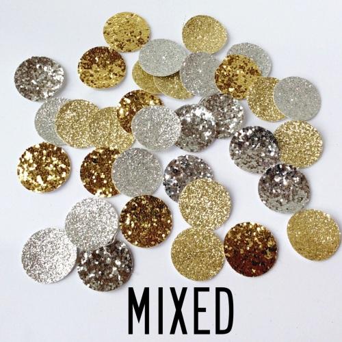 Glitter-fetti mini stars