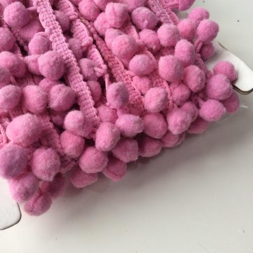 Dusty lilac 10mm pompom trim