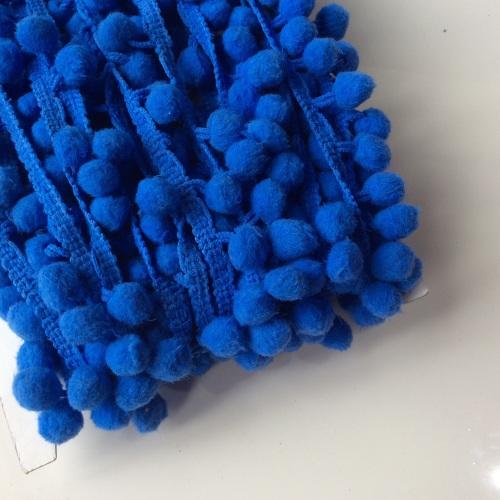ROYAL BLUE -10mm pompom trim