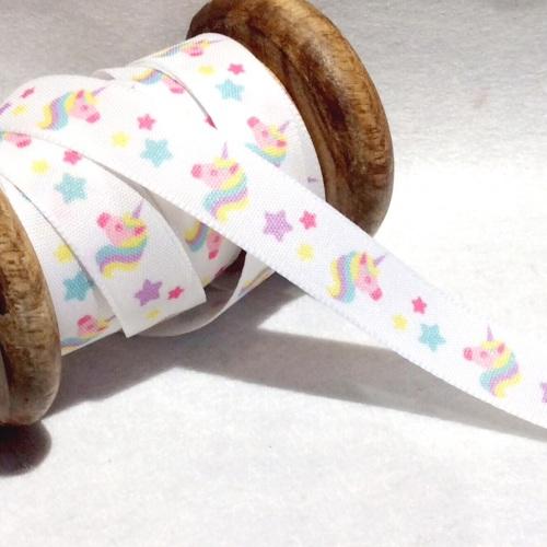 Unicorn pastel 16 mm ribbon
