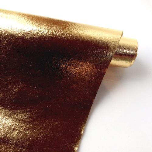 Leathered effect GOLD felt