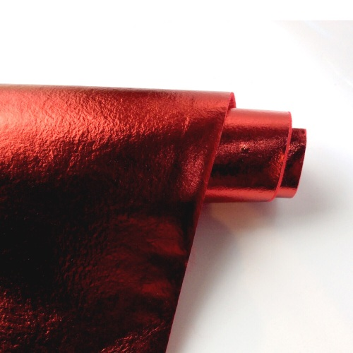 Leathered effect RED felt