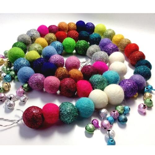 Somewhere Over The Rainbow Garland x60 balls