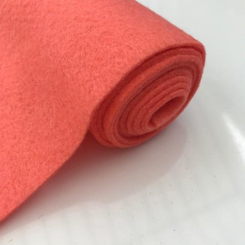 CARIBBEAN CORAL Wool Blend Felt