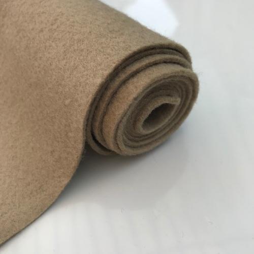 VANILLA LATTE Wool Blend Felt