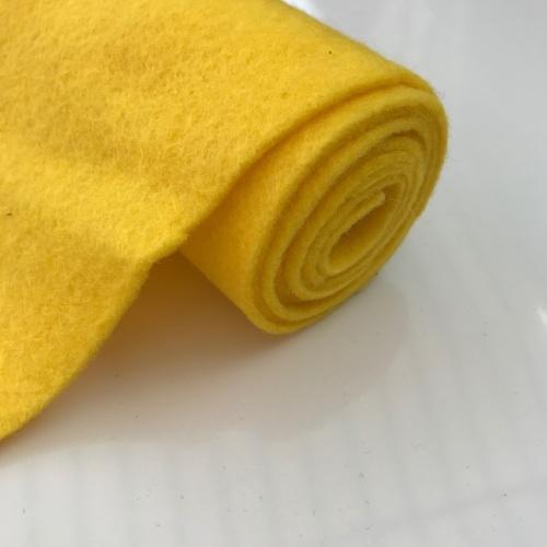 YELLOW Wool Blend Felt
