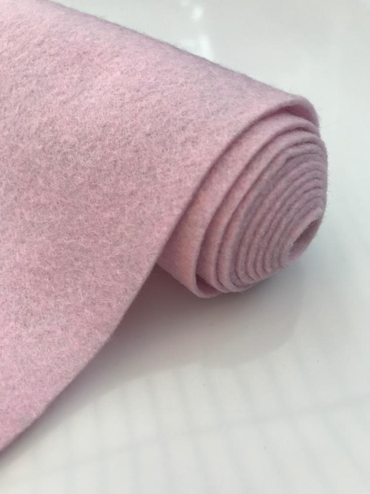 PINK FROST Wool Blend Felt