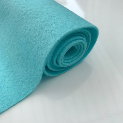 ALLURING AQUA Wool Blend Felt