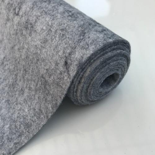 SMOKEY MARBLE Wool Blend Felt