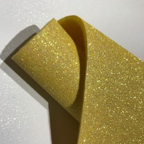 SHERBET LEMON - Glitter Felt
