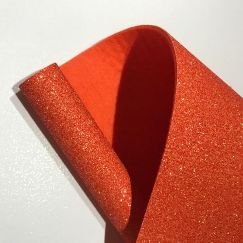 FROSTY PUMPKIN - Glitter Felt