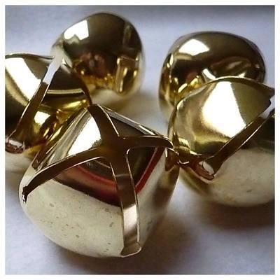 40 mm gold bells