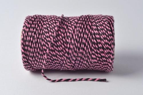 pink/black twist