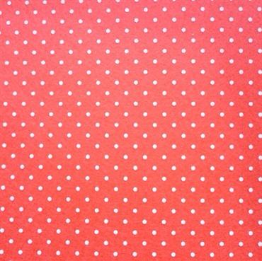 2mm polka dot felt