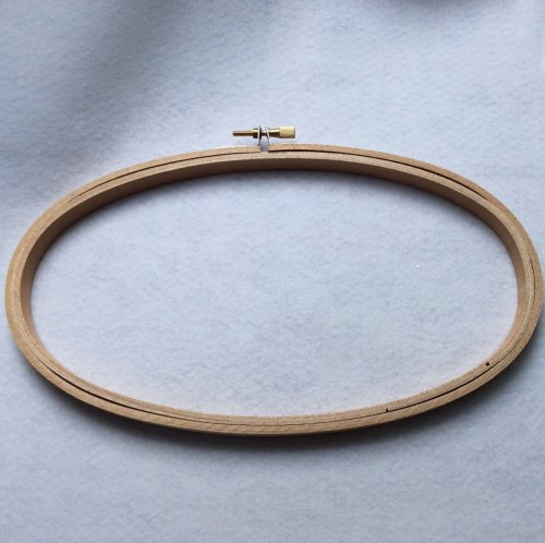 Oval Wooden