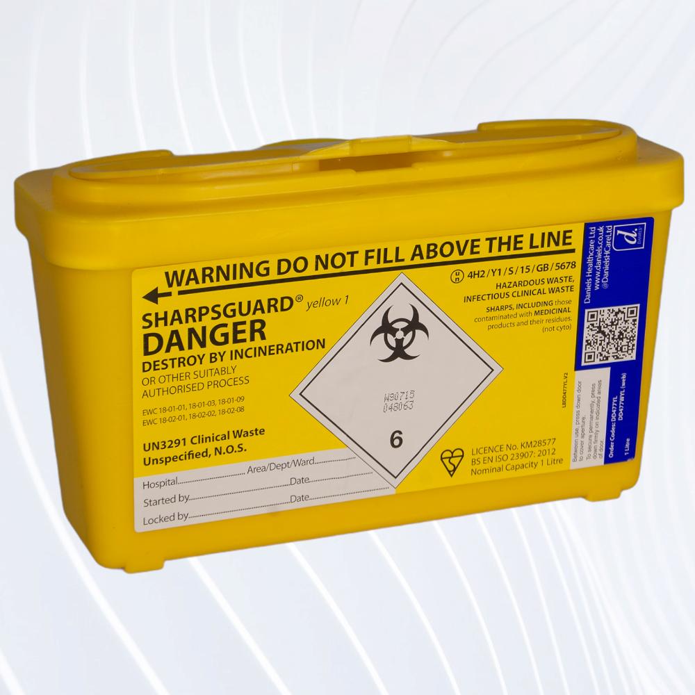Clinical Waste & Sharps Disposal