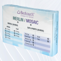 Biotouch Mosaic 2 & 3 Round Needle Caps x 20 (New Packaging)