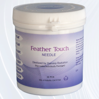 Biotouch Feathertouch 9 Prong Slanted Replacement Needles - Threaded Attachment - Angled Head