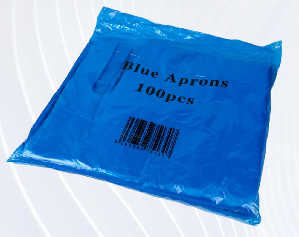 SPMU Disposable Blue Aprons