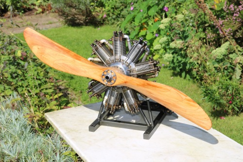 1/4 Scale Bentley BR2 Rotary Aero Engine