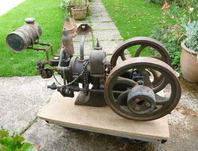 Frank Hartop AV2 Petrol Engine