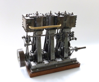 An Antique Triple Expansion Marine Engine - SOLD