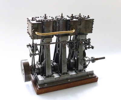 An Antique Triple Expansion Marine Engine