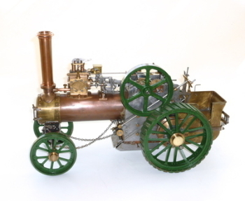 "1"" Scale 'Minnie' Traction Engine - SOLD"