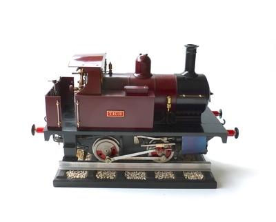 3 1/2 inch gauge 'Tich' 0-4-0 Tank Locomotive