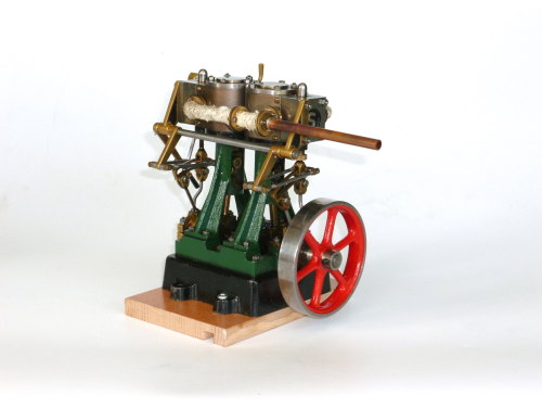 Stuart Turner D10 Steam Engine with Reverse Gear