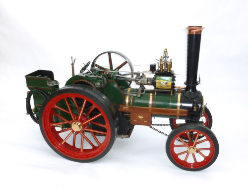 A fine exhibition standard 3 inch Burrell Traction Engine