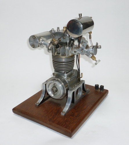 A fine model of a 30cc Internal Combustion Hydroplane Engine