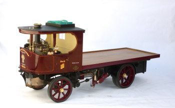 A Fine Exhibition quality 3 inch scale model of an 'Atkinson' steam lorry