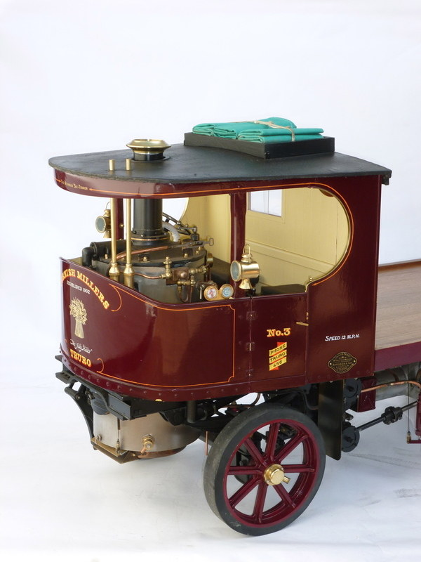 3 Inch Scale Model Of An Atkinson Steam Lorry