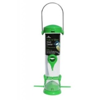 Flick 'N' Click 4-Port Seed Feeder