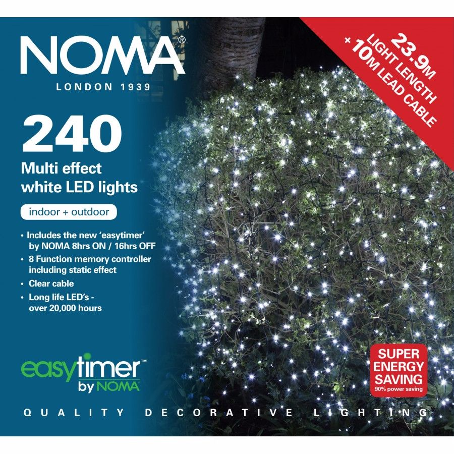 NOMA CHRISTMAS LIGHTS 240 LED