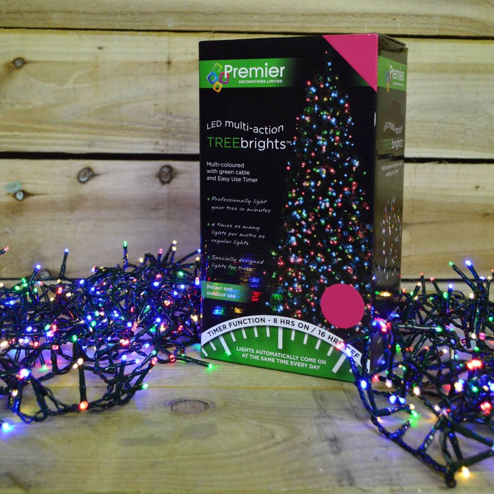 1000 MULTI LED TREEBRIGHTS LIGHT STRING