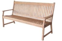 HANOI 3 SET SLATTED BENCH